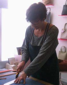 Sandra snijden
